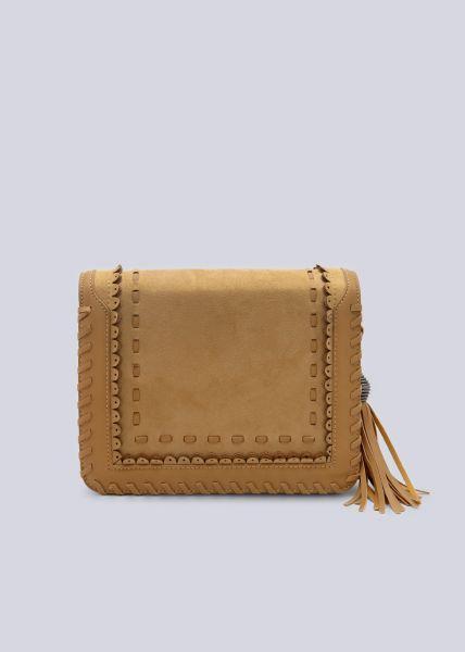 Überschlagtasche, camel