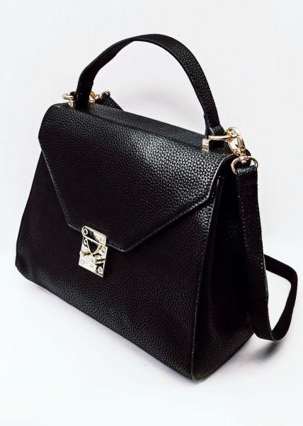 Henkel-Tasche, schwarz