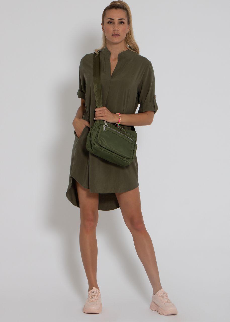 Tunika-Kleid, khaki