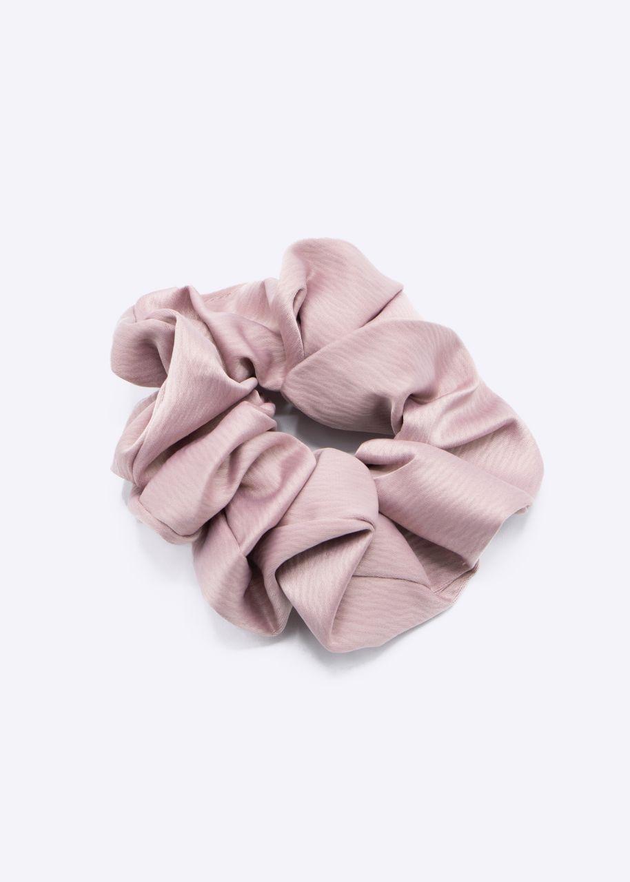 Satin-Scrunchie, rosa