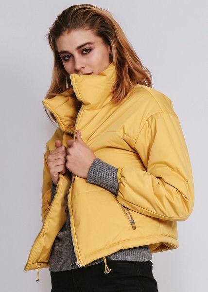 Steppjacke, gelb