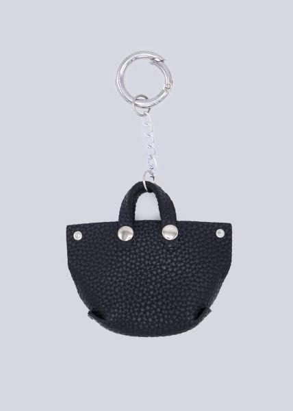 Taschenanhänger Shopper, schwarz