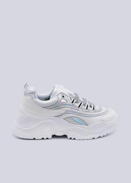 riesige Auswahl an f0d90 5cb53 Plateau sneaker, white
