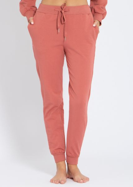 Lounge-Pants, terracotta