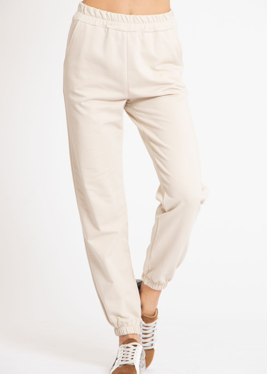 Lounge-Pants, beige