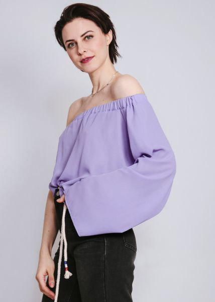 Asymmetrisches Top, lila