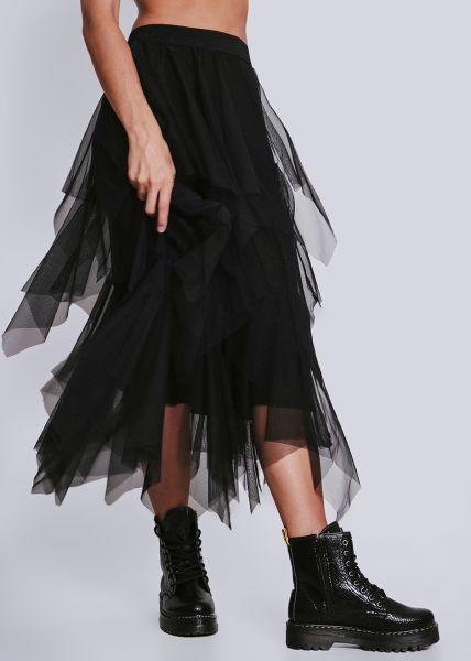 Tüllrock, schwarz