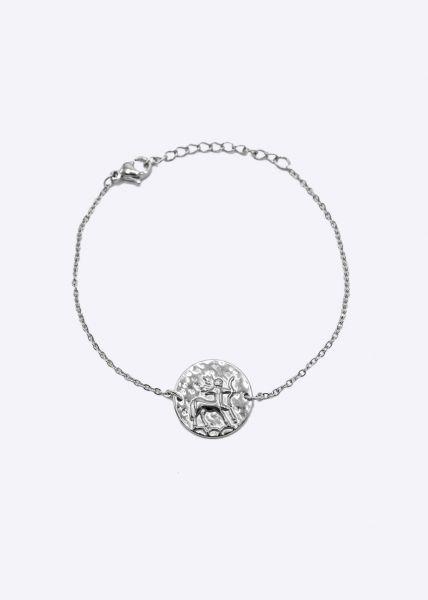 Armkette mit Sternzeichen Schütze, silber