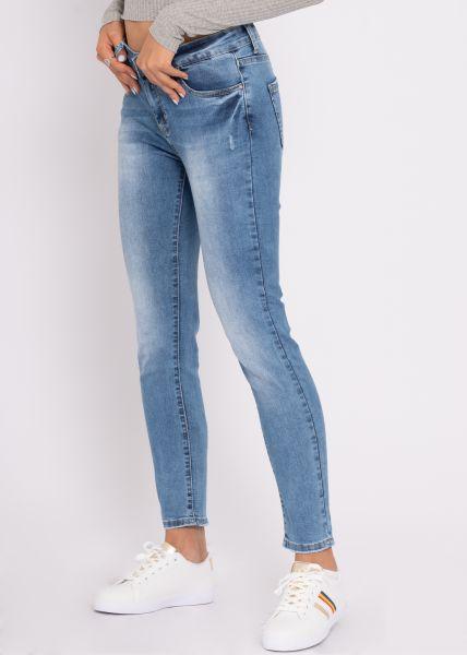 Regular-Fit Jeans, blau
