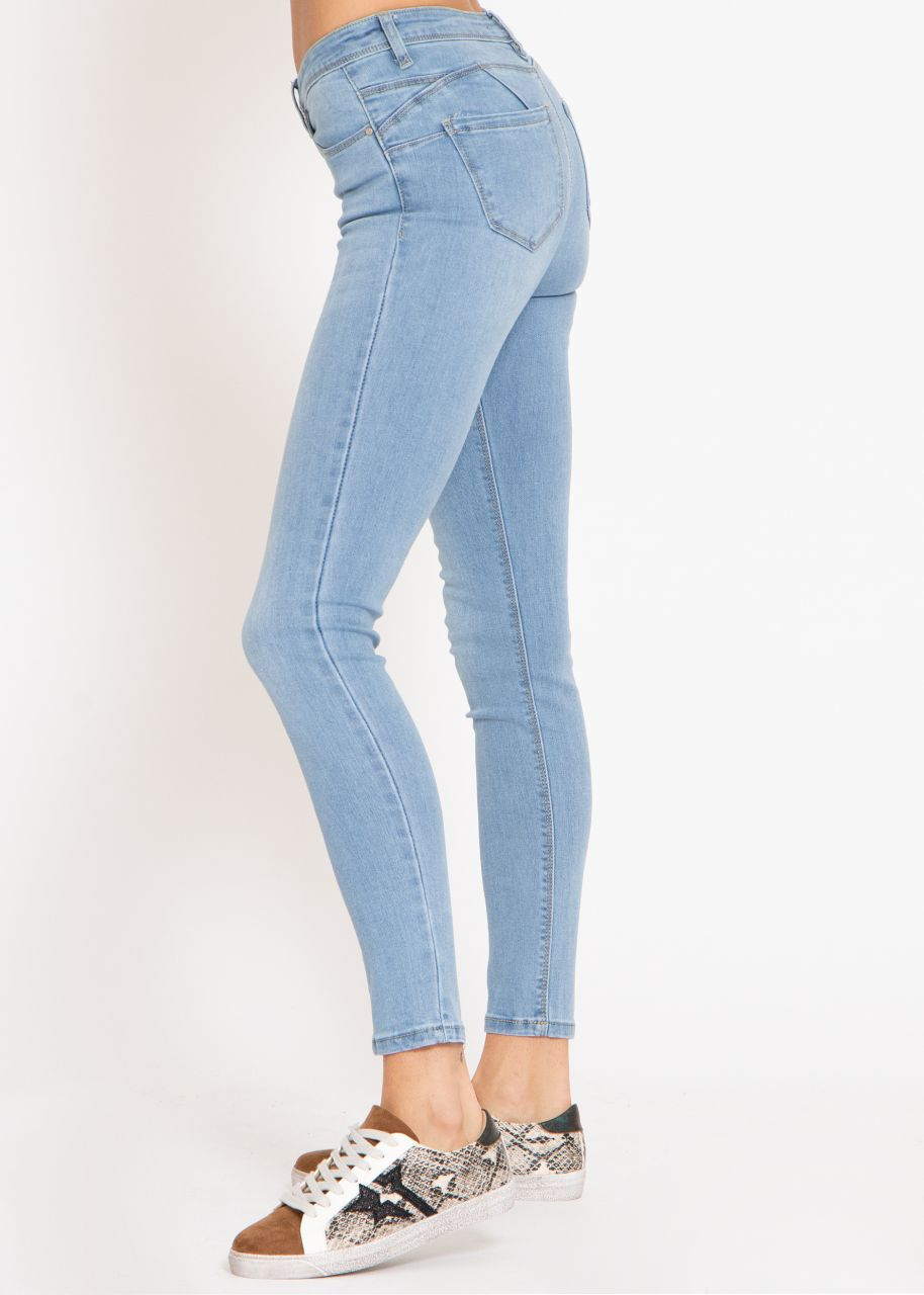 Push-Up Jeans, hellblau