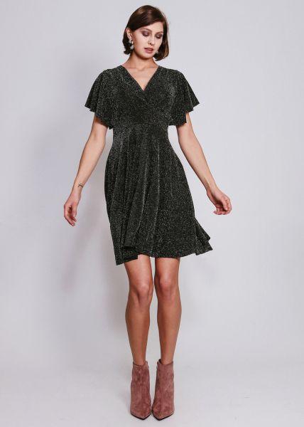 Lurex-Kleid, silber