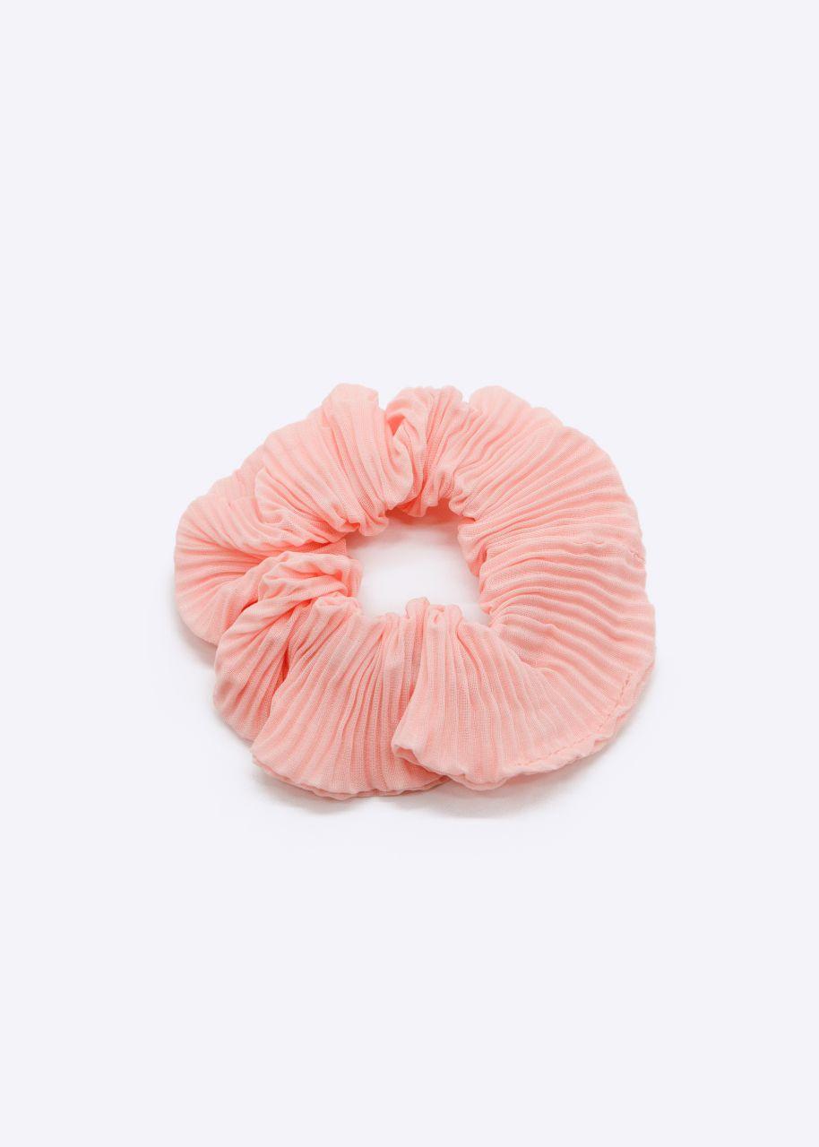 Plissée Scrunchie, rosa
