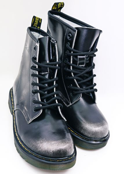 Leder-Boots, used Look