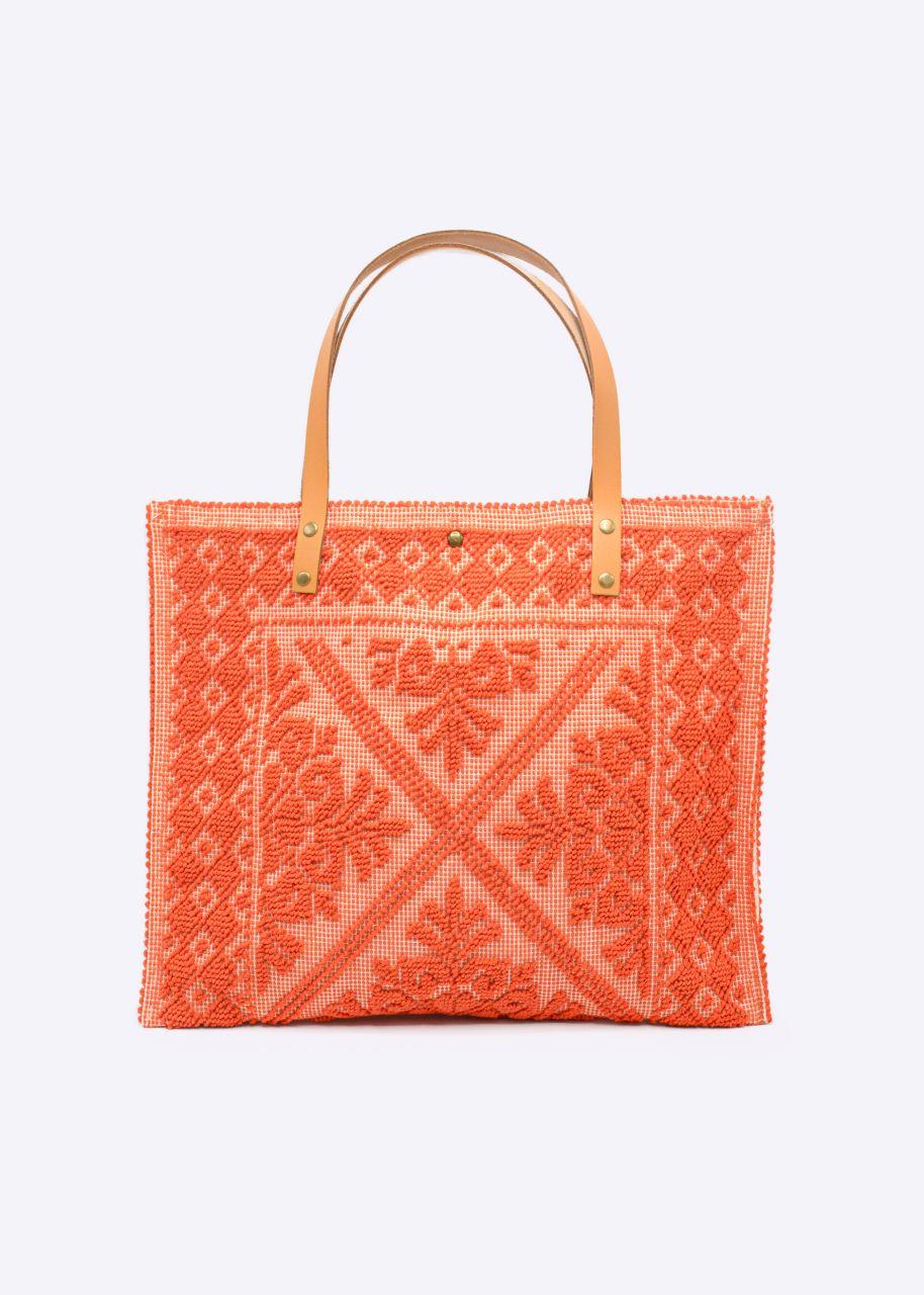 Shopper, orange