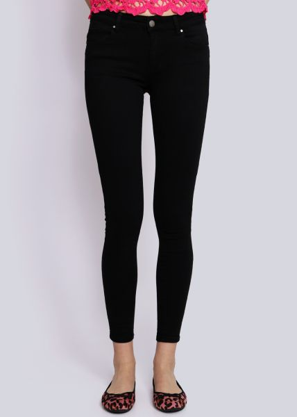 Push Up Jeans, schwarz