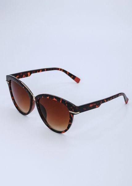 Sonnenbrille mit Leo-Muster