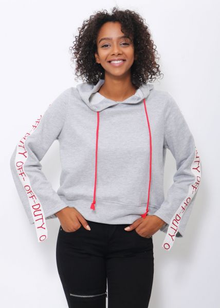"Sweatshirt ""OFF-DUTY"", grau"