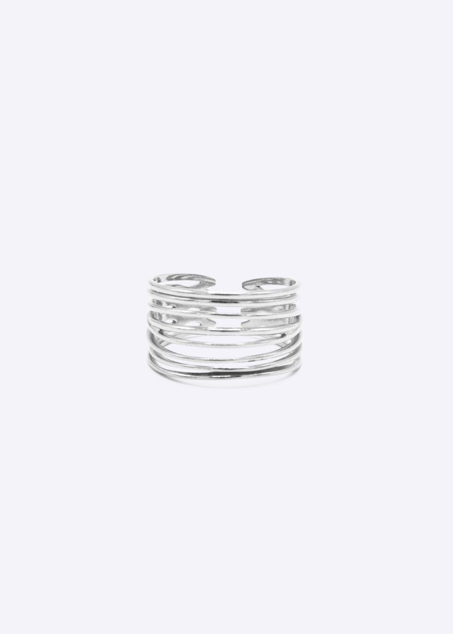 Filigraner Ring, silber