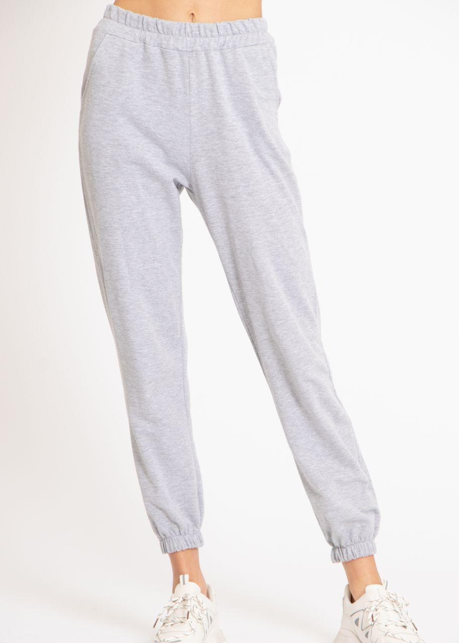 Lounge-Pants, grau