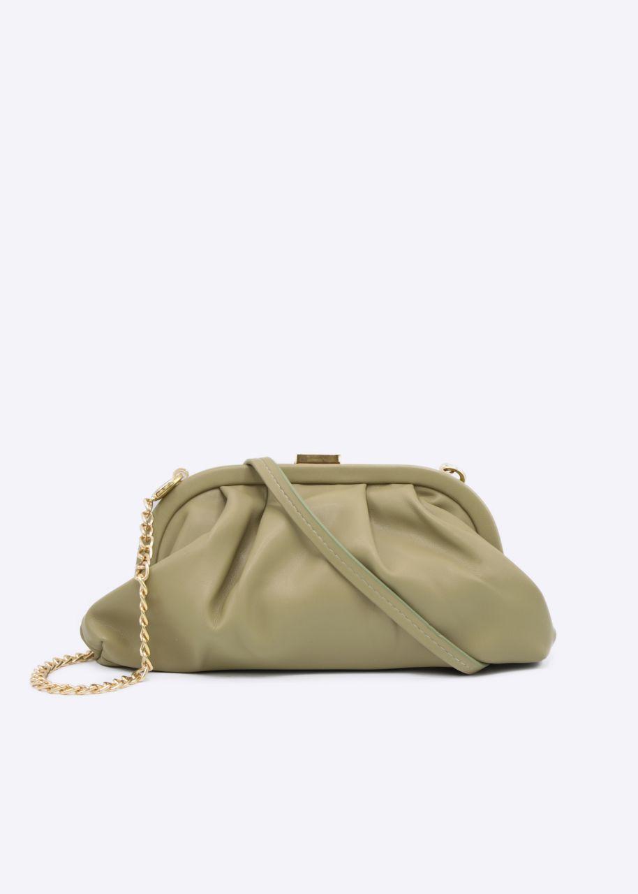 Slouchy Mini-Tasche, khaki