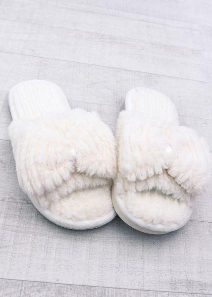 slippers mit schleife wei new arrivals sassyclassy. Black Bedroom Furniture Sets. Home Design Ideas