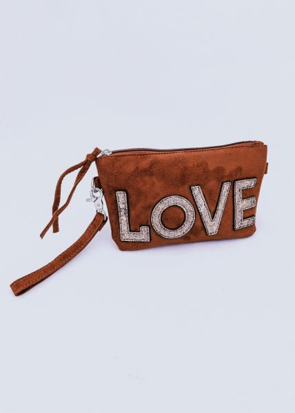 LOVE-Minibag, cognac
