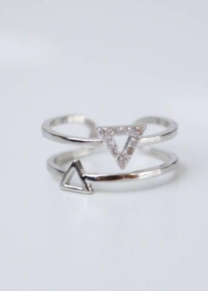 Ring, silbern