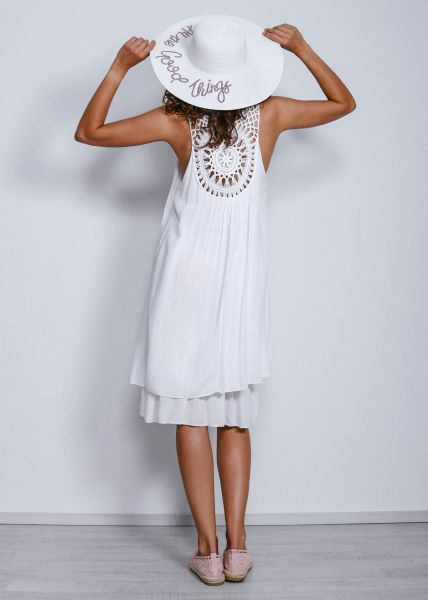 Strand-Kleid, weiß
