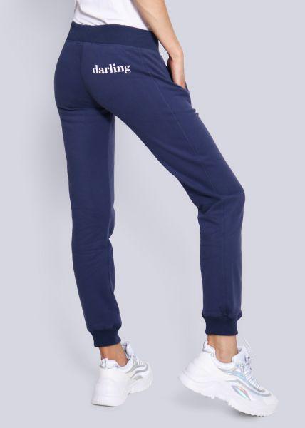 Loungepants, blau