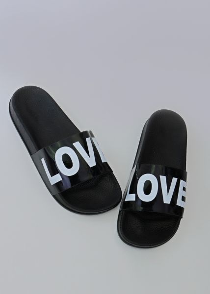 LOVE-Sliders, schwarz