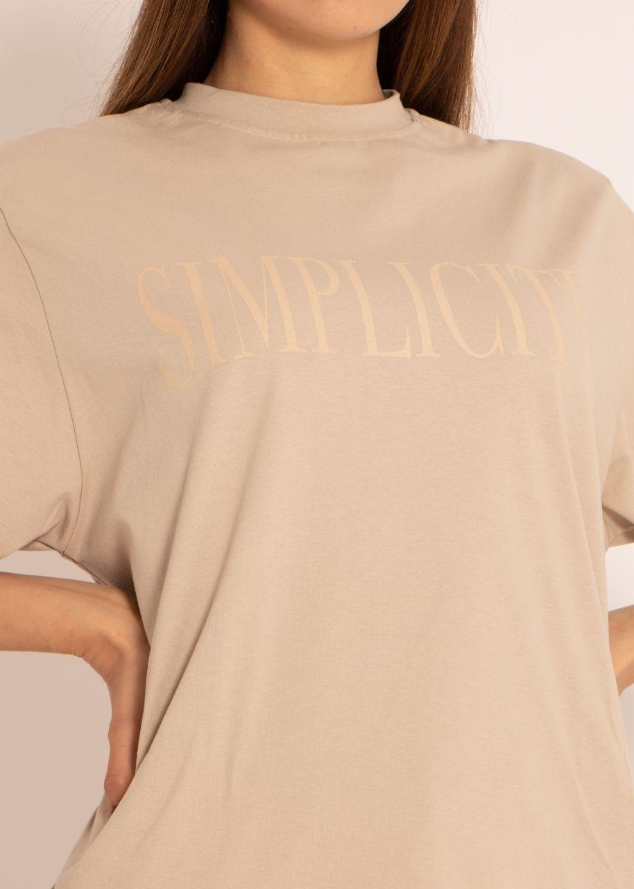 T-Shirt SIMPLICITY, beige