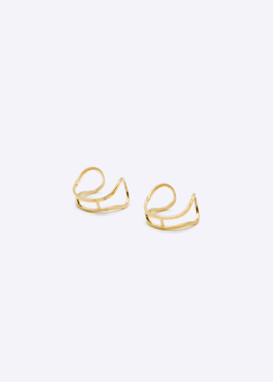 Ear cuff Set, gold