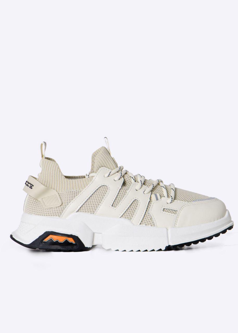 Plateau Sneaker, beige