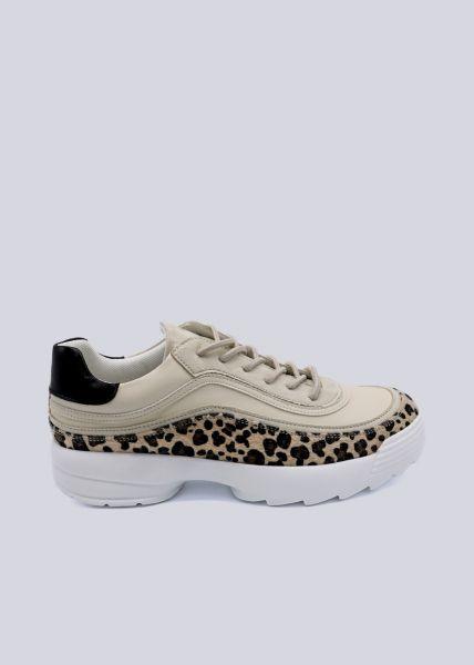 Leo-Sneaker, beige