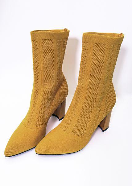 Sock-Boots, gelb