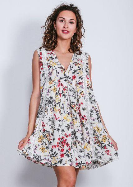 Geblümtes Hängerchen-Kleid ohne Arm