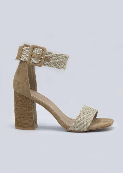 Sandalette, beige