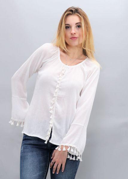 Tunika-Bluse, offwhite