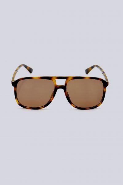 Sonnenbrille mit Brauensteg, Leo