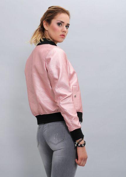 Bomberjacke, rosé
