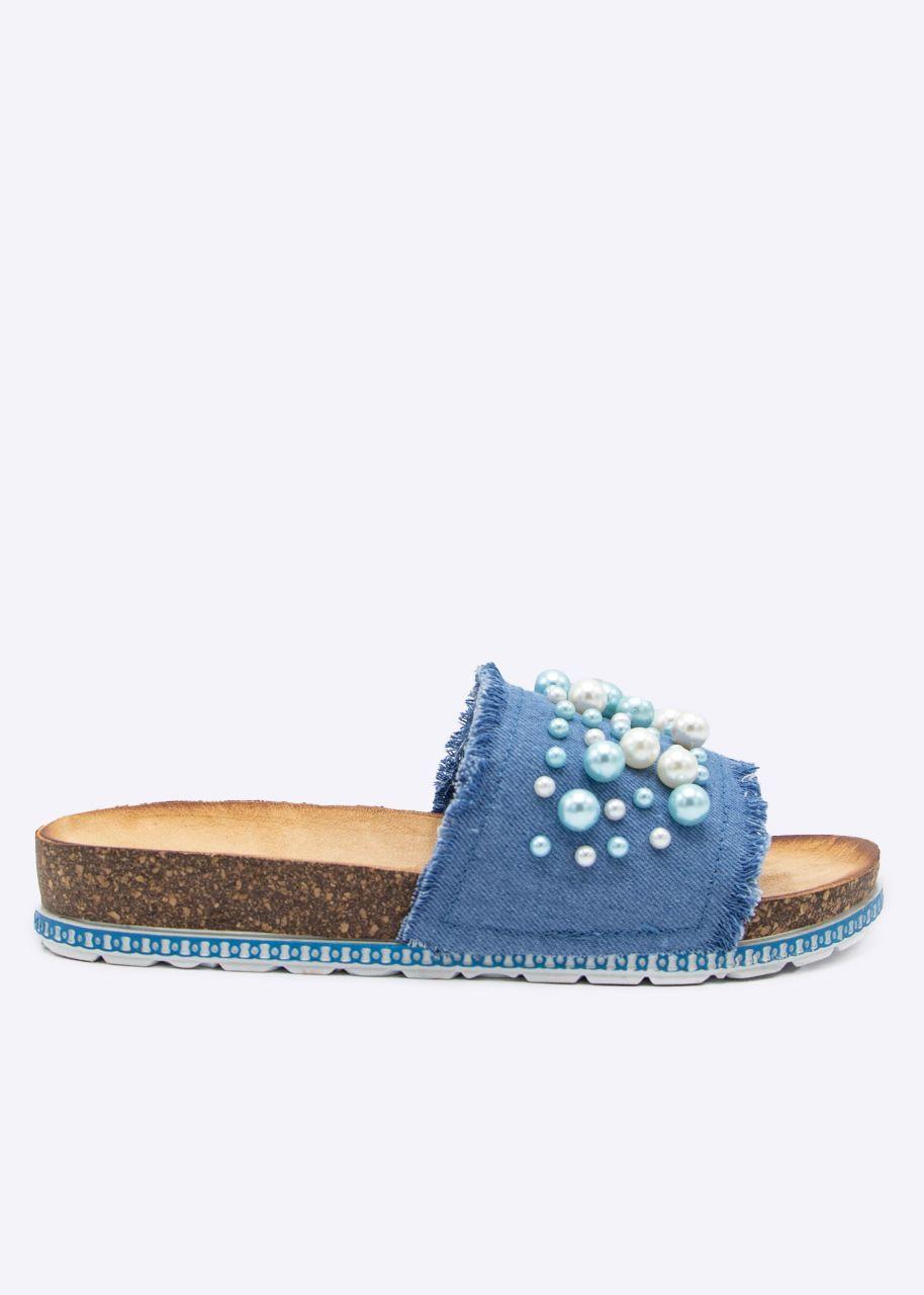 Perlen-Slider, blau