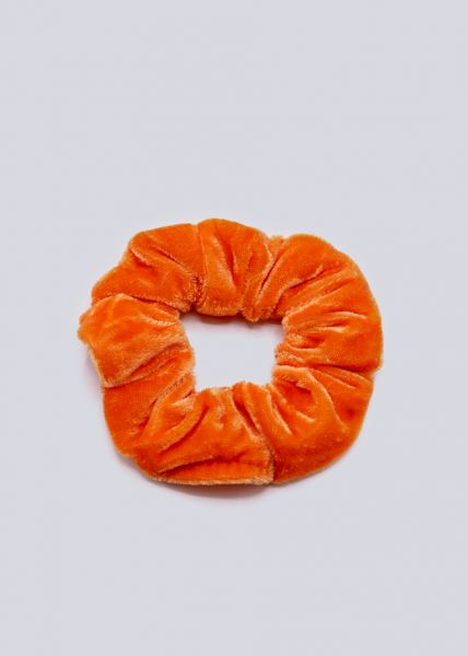 Scrunchie, orange
