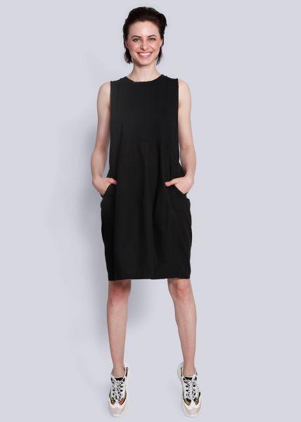 Kleid mit Tulpenrock, schwarz