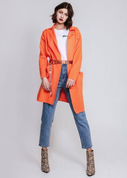 Strick-Cardigan, orange