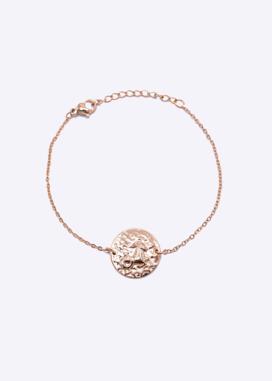 Armkette mit Sternnzeichen Steinbock, roségold