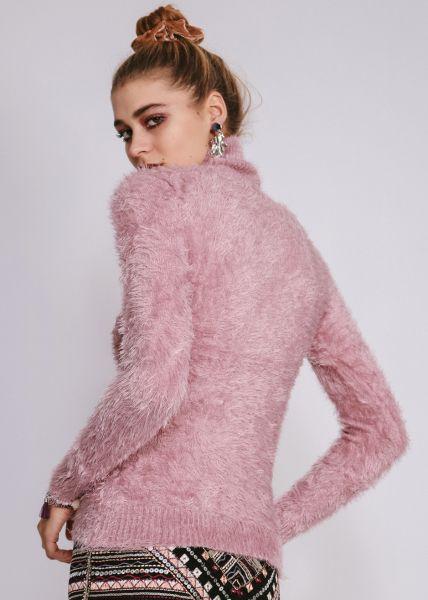 Flausch-Rolli, rosa