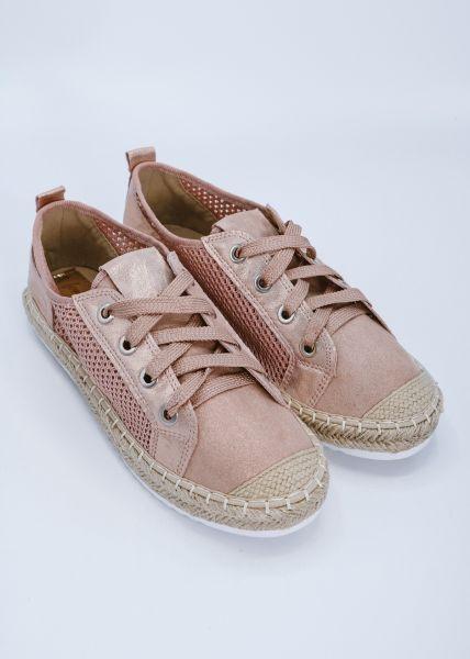 Espadrilles-Sneaker, rosa