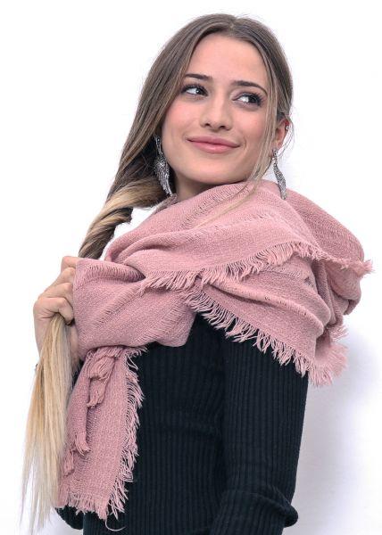 Softer Schal, rosa