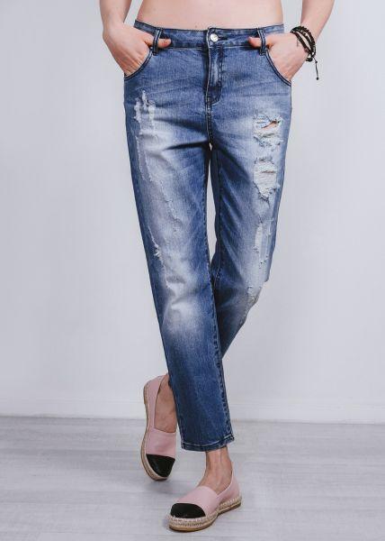 Lässige Boyfriend-Jeans