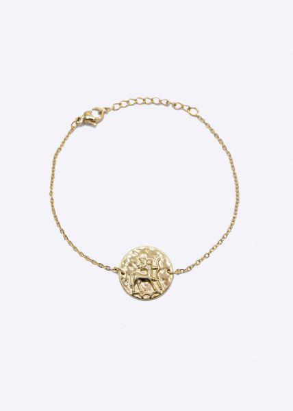 Armkette mit Sternzeichen Schütze, gold